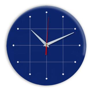 Настенные часы Ideal 957 синий темный