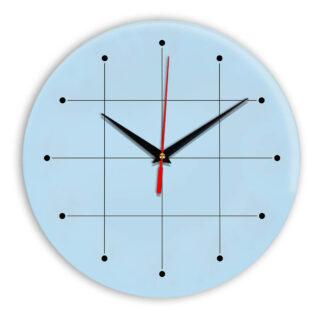 Настенные часы Ideal 957 светло-голубой