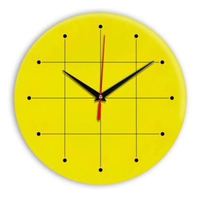 Настенные часы Ideal 957 желтые