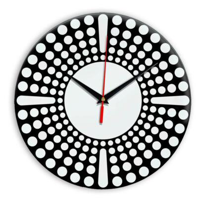 Настенные часы Ideal 958 черные