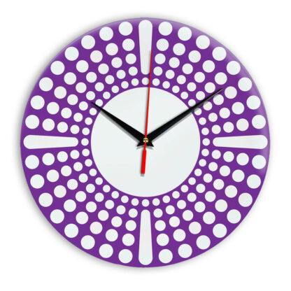 Настенные часы Ideal 958 фиолетовые