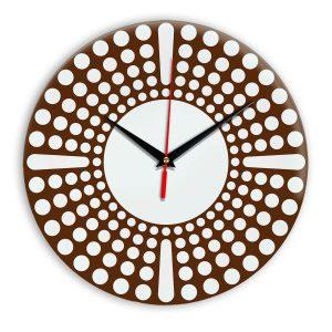 Настенные часы Ideal 958 коричневый