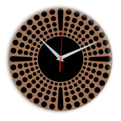 Настенные часы Ideal 958 коричневый светлый