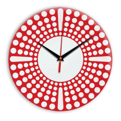 Настенные часы Ideal 958 красный