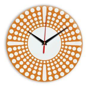 Настенные часы Ideal 958 оранжевый