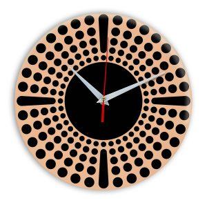 Настенные часы Ideal 958 оранжевый светлый