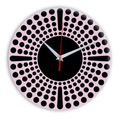 Настенные часы Ideal 958 розовые светлый