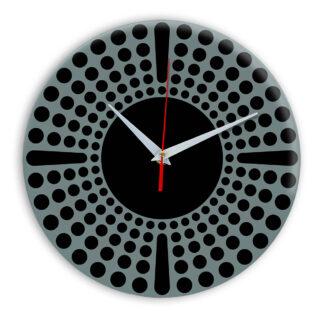 Настенные часы Ideal 958 серо синий