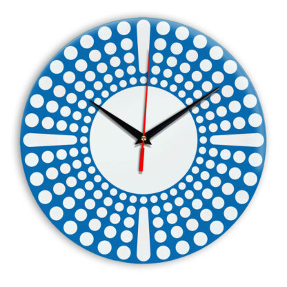 Настенные часы Ideal 958 синий