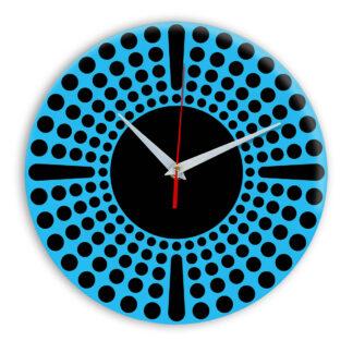 Настенные часы Ideal 958 синий светлый