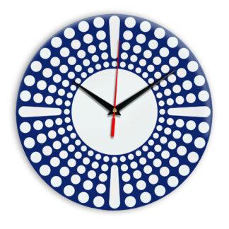 Настенные часы Ideal 958 синий темный
