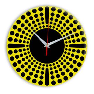 Настенные часы Ideal 958 желтые
