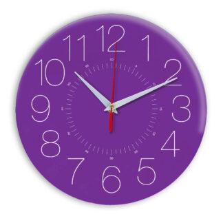 Настенные часы Ideal 959 фиолетовые