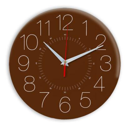 Настенные часы Ideal 959 коричневый
