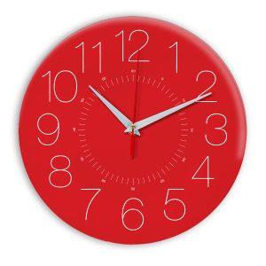 Настенные часы Ideal 959 красный