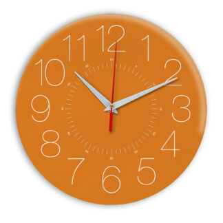 Настенные часы Ideal 959 оранжевый