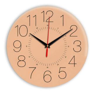 Настенные часы Ideal 959 оранжевый светлый