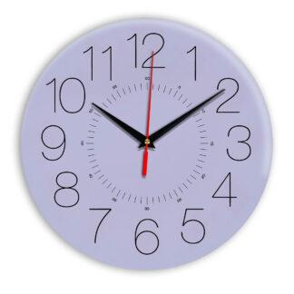 Настенные часы Ideal 959 сиреневый светлый