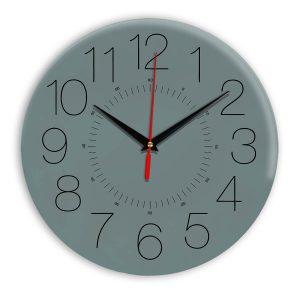 Настенные часы Ideal 959 серо синий