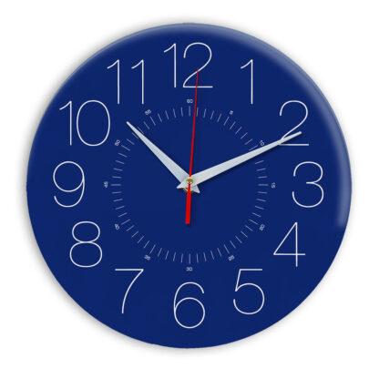 Настенные часы Ideal 959 синий темный