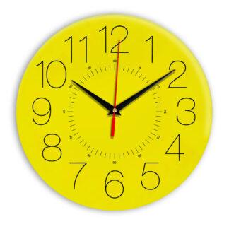 Настенные часы Ideal 959 желтые