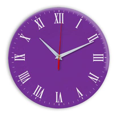 Настенные часы Ideal 960 фиолетовые