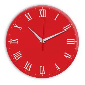 Настенные часы Ideal 960 красный