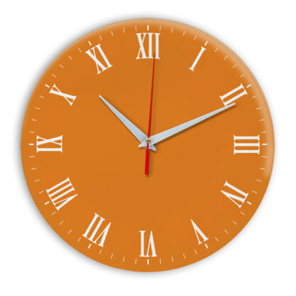 Настенные часы Ideal 960 оранжевый