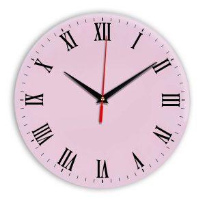 Настенные часы Ideal 960 розовые светлый