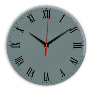 Настенные часы Ideal 960 серо синий