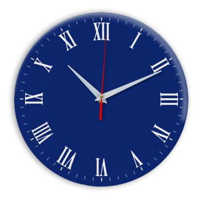 Настенные часы Ideal 960 синий темный
