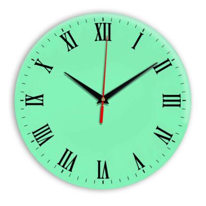 Настенные часы Ideal 960 светлый зеленый