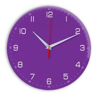 Настенные часы Ideal 961 фиолетовые