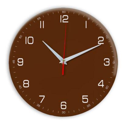 Настенные часы Ideal 961 коричневый