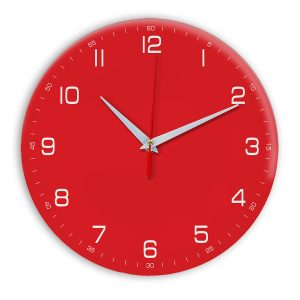 Настенные часы Ideal 961 красный