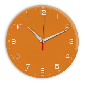 Настенные часы Ideal 961 оранжевый