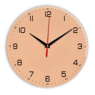 Настенные часы Ideal 961 оранжевый светлый