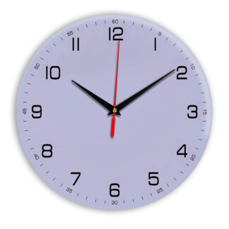 Настенные часы Ideal 961 сиреневый светлый
