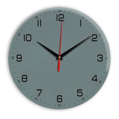 Настенные часы Ideal 961 серо синий