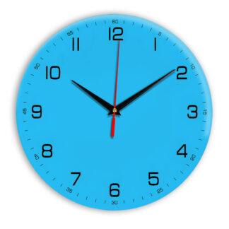 Настенные часы Ideal 961 синий светлый