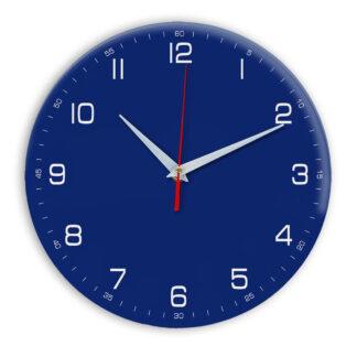 Настенные часы Ideal 961 синий темный