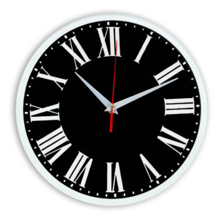 Настенные часы Ideal 964 черные