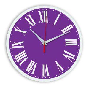 Настенные часы Ideal 964 фиолетовые