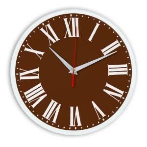 Настенные часы Ideal 964 коричневый