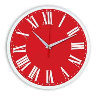 Настенные часы Ideal 964 красный