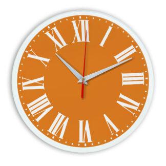Настенные часы Ideal 964 оранжевый