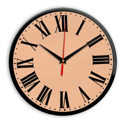 Настенные часы Ideal 964 оранжевый светлый