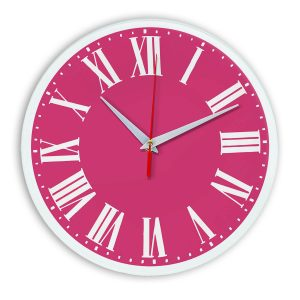 Настенные часы Ideal 964 розовые