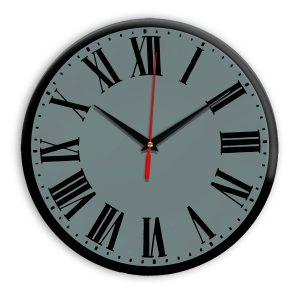 Настенные часы Ideal 964 серо синий