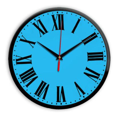 Настенные часы Ideal 964 синий светлый